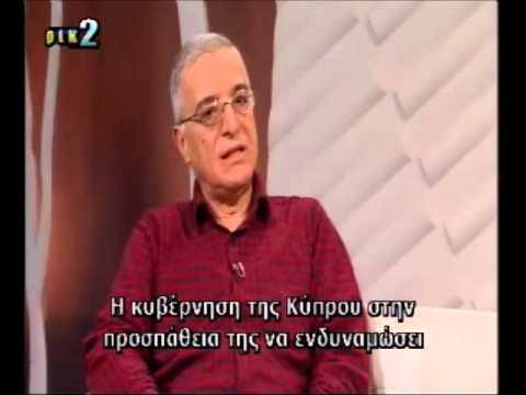Ahmet Cavit An talks about Turkey and Cyprus EEZ