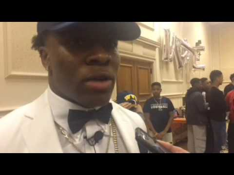 Lamont Wade talks about committing to Penn State
