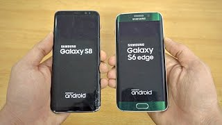 Samsung Galaxy S8 vs Galaxy S6 Edge - Speed Test! (4K)