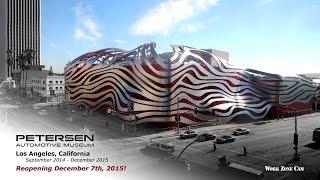 Petersen Automotive Museum Redesign Time-Lapse