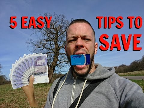 How to SAVE MONEY on your trip to LONDON - 5 EASY TIPS