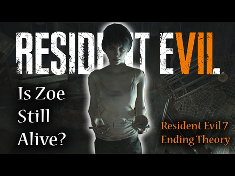 Resident Evil 7 Ending | Is Zoe Baker Alive? | RE7 Ending Theory