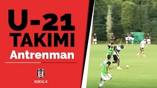 Futbol Takımımız, U-21 Takımımız İle Antrenman Maçı Yaptı