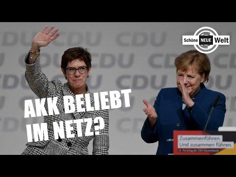 Annegret Kramp-Karrenbauer beliebt im Netz? Fake Fakten über AfD