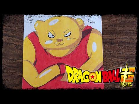 Speed Drawing Dragon Ball Super: Botamo