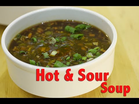 Veg Hot & Sour Soup By Chef Harpal Singh