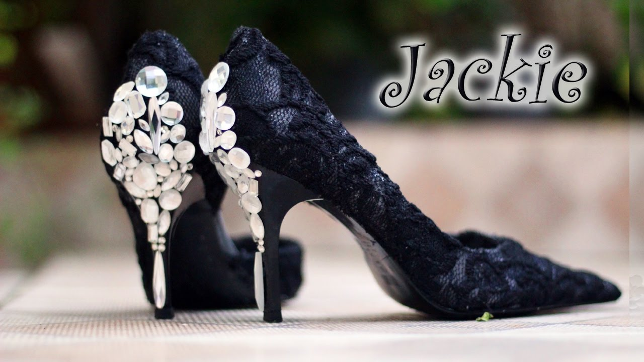05215d310 Artesanato passo a passo: Sapato customizado - YouTube