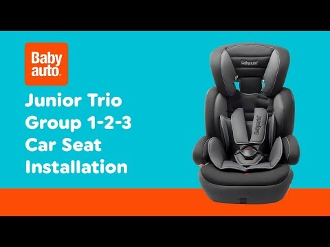 Smyths Toys - Babyauto Junior Trio Group 1-2-3 Car Seat