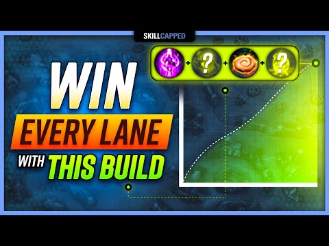 WIN EVERY LANE WITH THIS BROKEN BUILD! - Mid Guide Skill Capped