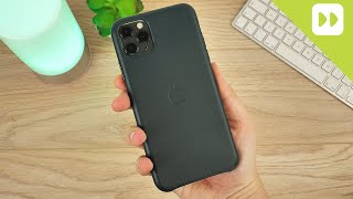 Official Apple iPhone 11 Pro Max Leather Case Review