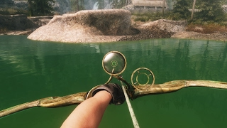 Skyrim - SECRET BOW - Glass Bow Of The Stag Prince (LOCATION)