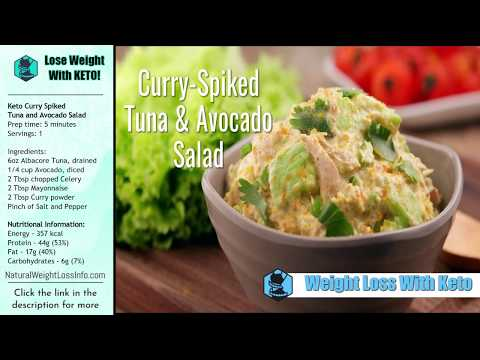 Keto Tuna and Avocado Salad | The EASIEST Low Carb Tuna Salad Recipe You Can Make