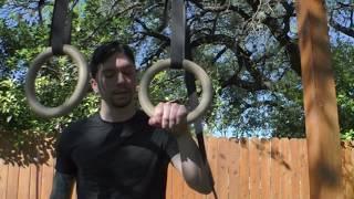 How to Start Training False Grip (on rings)