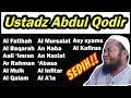 Mp3 Murrottal Ustadz Abdul Qodir Menyentuh Hati 2018 (TERBARU)