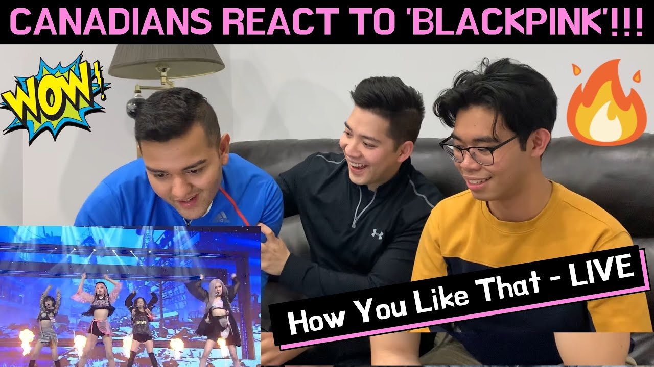 CANADIANS REACT TO BLACKPINK: How You Like That (The Tonight Show: At Home Edition)
