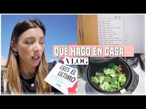 QUÉ ESTOY HACIENDO EN CASA 🏠 Comida, Libros, Organización De Clases, Ejercicio... | Ani Pocino TV