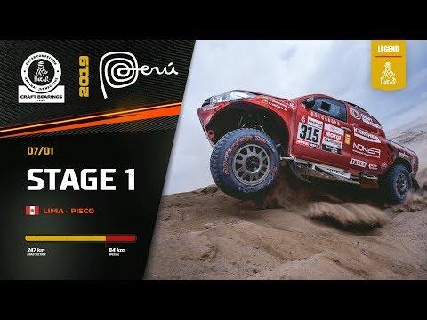 Dakar Rally 2019. Antanas Juknevicius Stage 1 Highlights