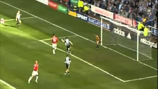 Newcastle United (4) Vs Man U (3) Season 2001_02 (1st Half)