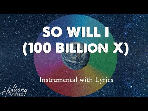 download SO WILL I (Hillsong United) - Acoustic Instrumental [Piano Karaoke with Lyrics]