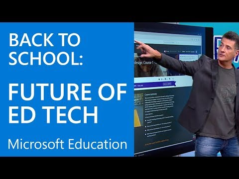 Back to School | The Future of Ed Tech