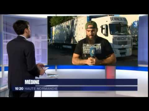 Médine en direct sur France 3