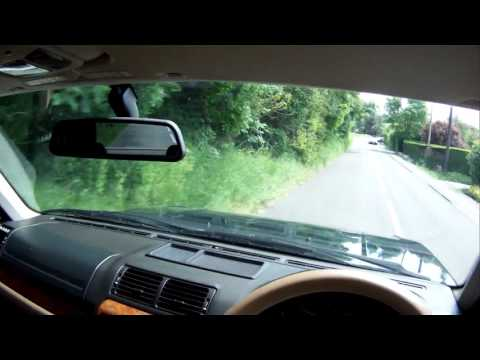 range rover P38 holland & holland for sale in action