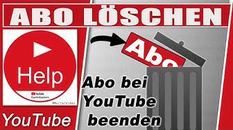 YouTube Abo löschen / Abos verwalten. So entfernt ihr nicht mehr geschaute Kanäle.