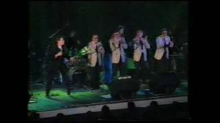 Elvis Presley medley/Hans Molenaar on drums w/The Jordanaires & Johnny Logan/1990