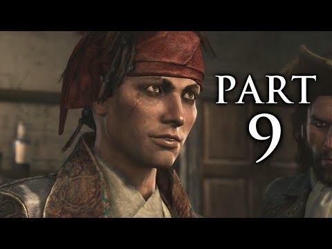 Assassin's Creed 4 Black Flag Gameplay Walkthrough Part 9 - Raise the Black Flag (AC4)