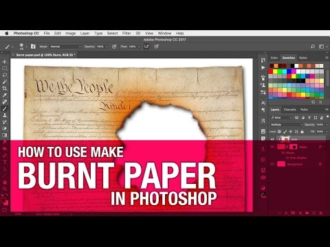 How to Create a Burnt Paper Effect in Photoshop - CreativePro com