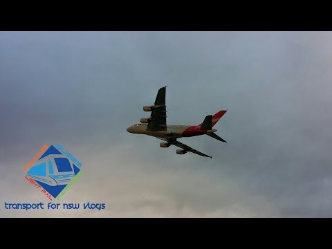 Transport for NSW Vlog No.644 Sydney Airport - Planes