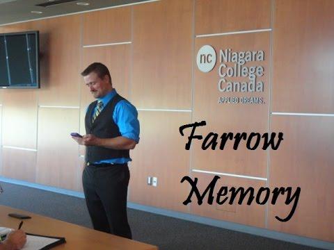 Farrow Memory Speaker Webinar