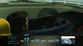 Formula 1 Mark Webber Track Simulation Bahrain 2010