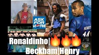 pepsi commercials compilation || Ronaldinho, Beckham, Buffon, R. Carlos, Casillas