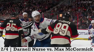 Top Ten NHL Hockey Fights of February 2016