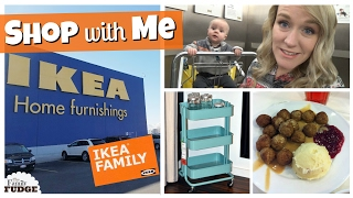 Shop with Me || IKEA Organization & Money Saving Tips || Vlog