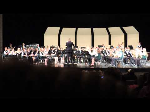 HHMS Concert Band -- ISSMA Band Contest 2013