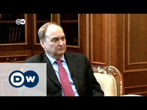 Antonov: We have to stick together | DW News