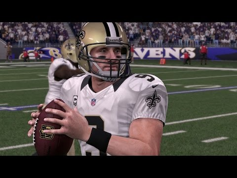 DREW BREES THROUGH THE YEARS - MADDEN 2002 - MADDEN 16