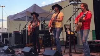 Midland acoustic performance of burnout and electric rodeo