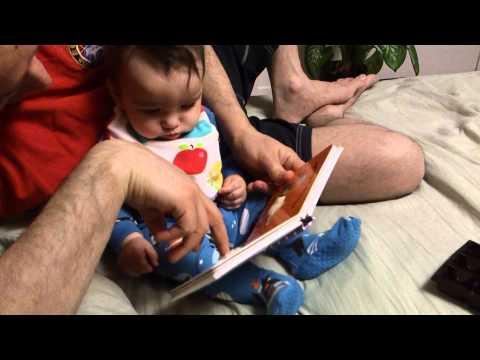 Bedtime Stories - 6 Months Old Tahra Loves Her Books