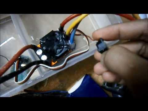 DIY Waterproofed RC Receiver and Brushless ESC