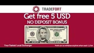 как получить бездепозитный форекс бонус 5$ от ТрейдФорт(Fort Financial Services)