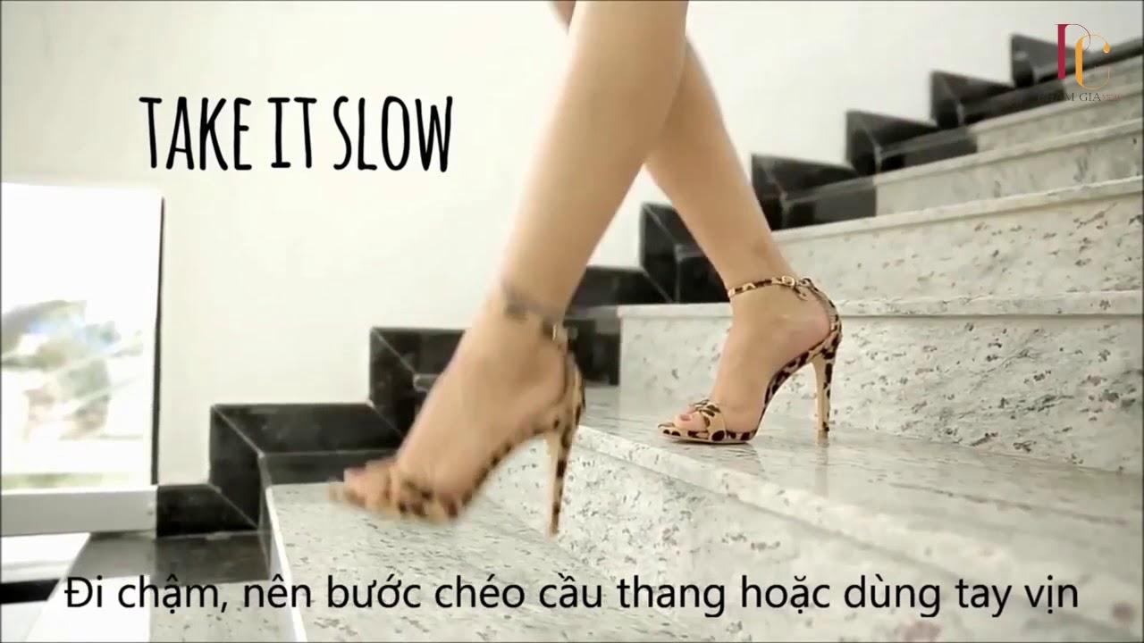 Hướng dẫn đi giày cao gót đúng cách – Phạm Gia Media (Hotline: 0938 277 722)