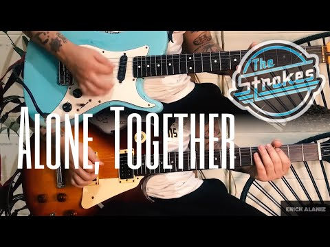 alone,-together-(t-in-the-park-2004-live-version)---the-strokes-(guitar-cover)