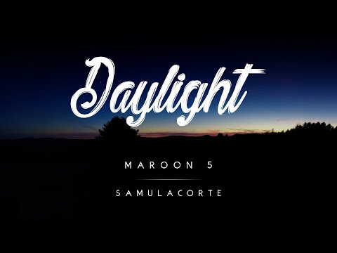 Maroon 5 - Daylight (Melodic Folk House Remix) [Lyric Video]