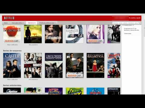 Catálogo de Netflix en México (Septiembre 2011)