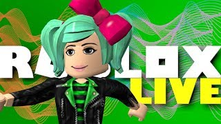 Roblox LIVE | Playing your creations! SallyGreenGamer