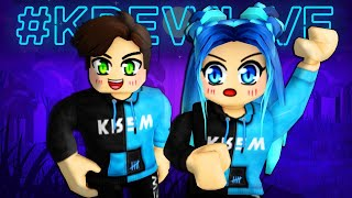Krew goes GHOST HUNTING in Roblox!