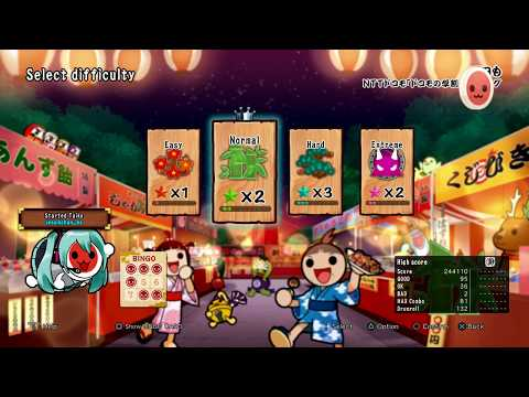 Taiko no Tatsujin: Drum Session - PS4 SHISHAMO -- Ashita mo(明日も) (NTT DoCoMo commercial song)